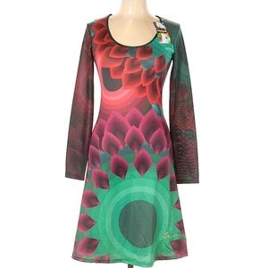 Desigual NWT Abstract Flower Dress, M